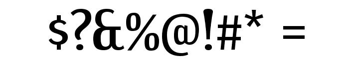 DreamOrphanageRg-Regular Font OTHER CHARS