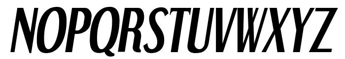 DreamOrphans-BoldItalic Font UPPERCASE