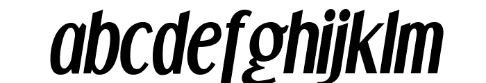 DreamOrphans-BoldItalic Font LOWERCASE