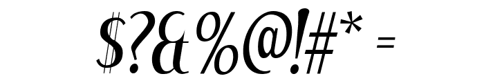 DreamOrphans-Italic Font OTHER CHARS