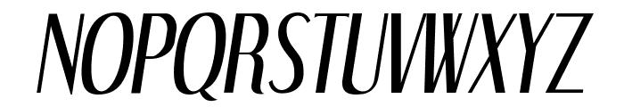 DreamOrphans-Italic Font UPPERCASE
