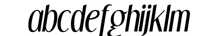 DreamOrphans-Italic Font LOWERCASE
