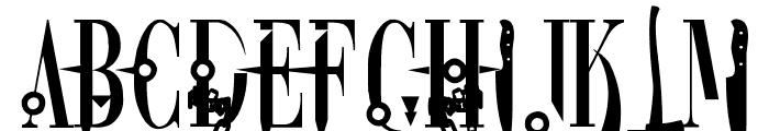 DreamScar Font UPPERCASE