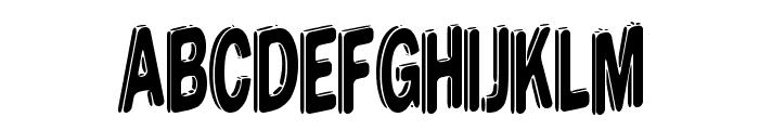 DreamStencil Font UPPERCASE