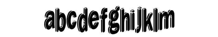 DreamStencil Font LOWERCASE