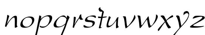 DreamerOne Italic Font LOWERCASE