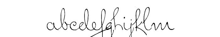 Dreamer Font LOWERCASE