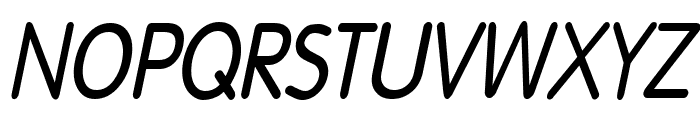 Dreamspeak Bold Italic Font UPPERCASE