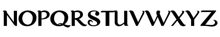 Dreamwood DEMO Regular Font UPPERCASE