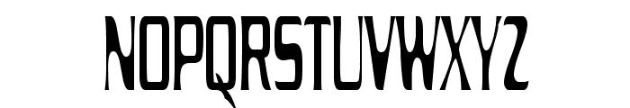 Drecknocratica Condensed Font UPPERCASE