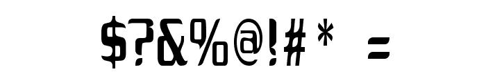Drecknocratica Font OTHER CHARS