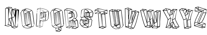 DreiDeeSketches Font LOWERCASE