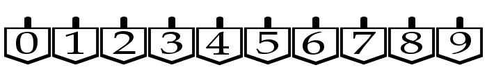 Dreidels Regular Font OTHER CHARS