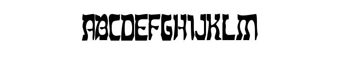 Dreidl Font LOWERCASE