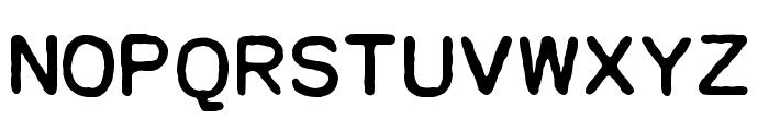 Dresden Elektronik Font UPPERCASE