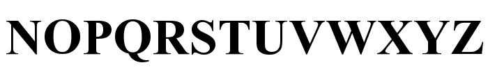 Dresden Font UPPERCASE