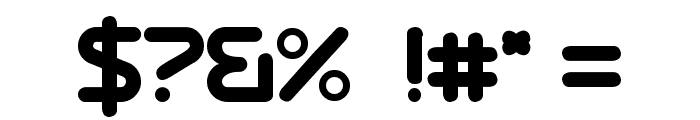Dressedless Regular Font OTHER CHARS