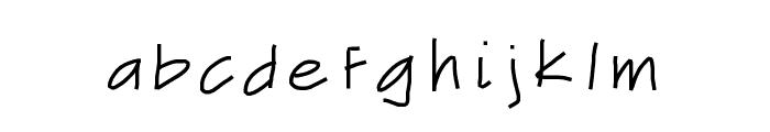 DribbleGuts Font LOWERCASE