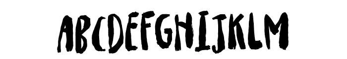 Drillepind DEMO Regular Font UPPERCASE