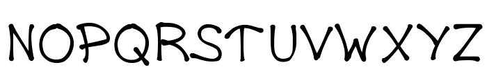 DrippyPlums Font UPPERCASE