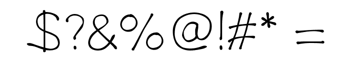 DrippyPlumsLight Font OTHER CHARS