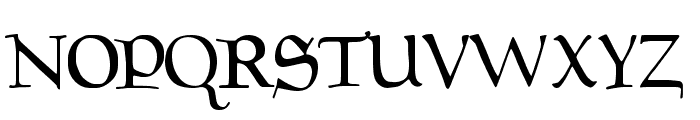 Drips Regular Font UPPERCASE