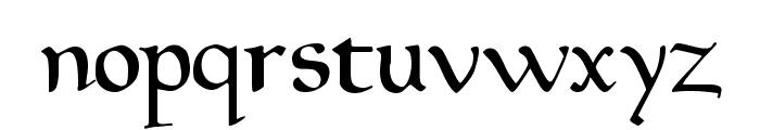 Drips Regular Font LOWERCASE