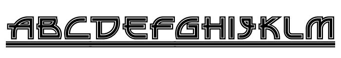 Drive-Thru NF Font UPPERCASE