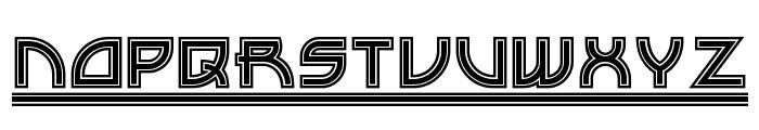 Drive-Thru NF Font LOWERCASE