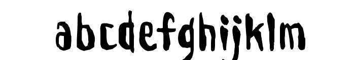 Droeming Normal Font LOWERCASE