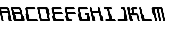 Droid Lover Leftalic Font LOWERCASE