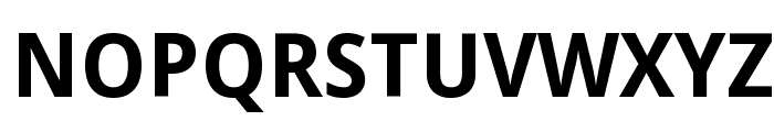 Droid Sans Bold Font UPPERCASE