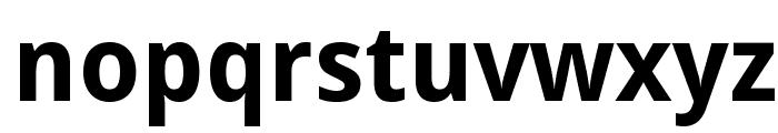 Droid Sans Bold Font LOWERCASE