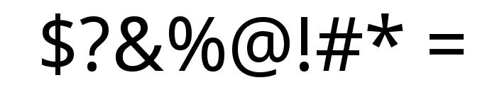 Droid Sans Font OTHER CHARS
