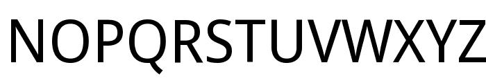 Droid Sans Font UPPERCASE