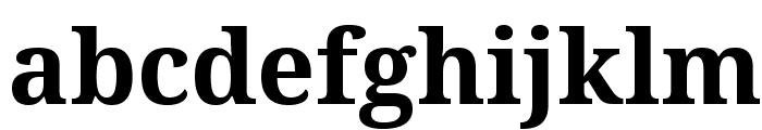Droid Serif Bold Font LOWERCASE