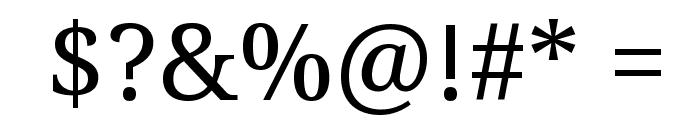 Droid Serif Font OTHER CHARS