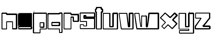 Drone Nation Font LOWERCASE