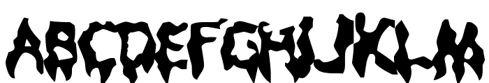 Droopy Poopy Font UPPERCASE