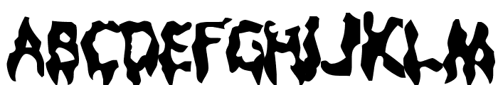 Droopy Poopy Font LOWERCASE