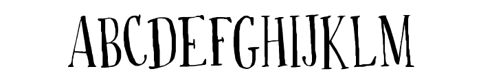 Drop your anchor Regular Font UPPERCASE