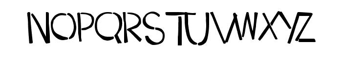 DropKickMB Font UPPERCASE