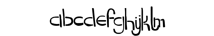 DropKickMB Font LOWERCASE