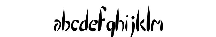 Droptear Font LOWERCASE