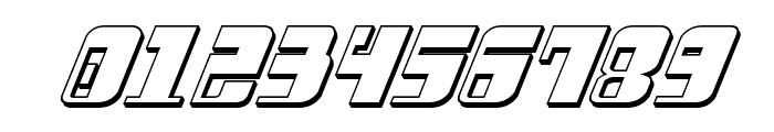 Drosselmeyer 3D Italic Font OTHER CHARS