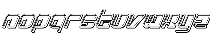 Drosselmeyer Engraved Italic Font LOWERCASE