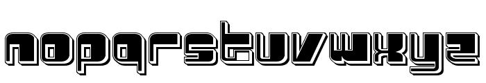 Drosselmeyer Punch Font LOWERCASE