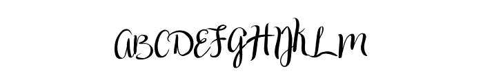 Druchilla Font UPPERCASE