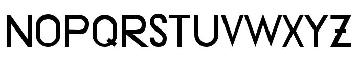 Druckschrift95 Font UPPERCASE