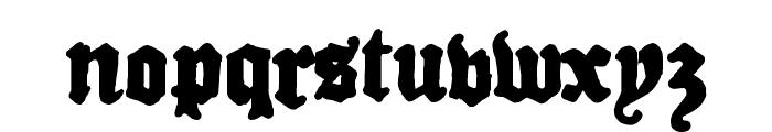 Drugstore  Regular Font LOWERCASE
